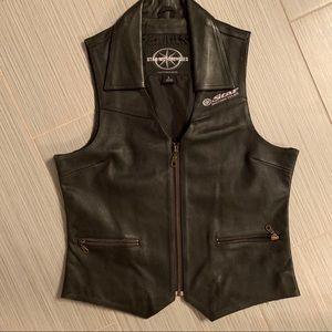 NWOT women's motorcycle vest